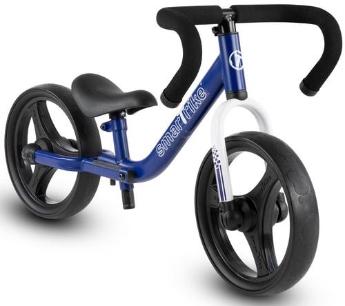 אופני איזון מתקפלים עם כיסא וכידון מתכווננים - כחול