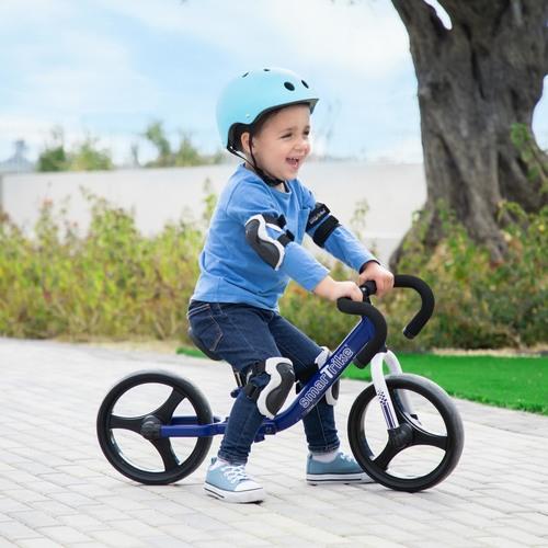 אופני איזון מתקפלים עם כיסא וכידון מתכווננים - כחול - תמונה 2