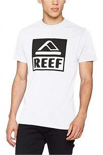 חולצת טי שרט Reef גזרת Slim לגברים בצבע לבן