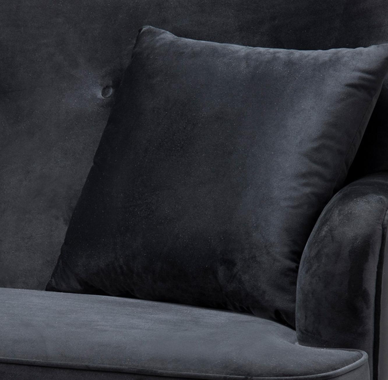 ספה מעוצבת דגם אמילי ביתילי מרופדת בד קטיפתי ונעים למגע מתאימה לבית ולמשרד - תמונה 4