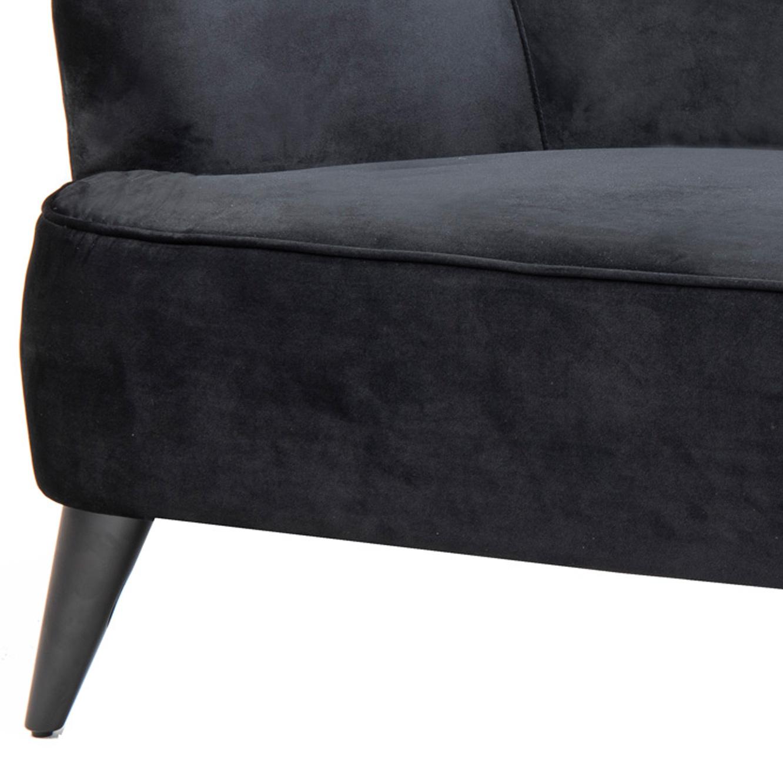 ספה מעוצבת דגם אמילי ביתילי מרופדת בד קטיפתי ונעים למגע מתאימה לבית ולמשרד - תמונה 5