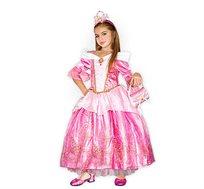תחפושת פורים לילדות היפהפייה הנרדמת שמלה ארוכה שושי זוהר