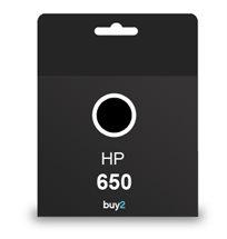 מדפיסים באיכות גבוהה! ראש דיו מקורי HP 650 צבע שחור, דיו איכותי למדפסת