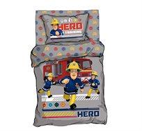 סט מצעים יחיד 3 חלקים 100% כותנה מהמותגים המובילים סמי הכבאי HERO