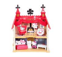 בית ענקי למשחק Hello Kitty הכולל את הדמות קיטי ועוד 6 חלקים למשחק חוויתי ומלא דמיון - משלוח חינם
