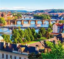 """6 ימי טיול מאורגן בפראג כולל טיסות, אירוח ע""""ב א.בוקר וכניסה להופעות החל מכ-$1840* לאדם!"""