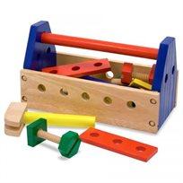 סט ארגז כלים מעץ - Melissa & Doug