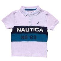 Nautica / נאוטיקה חולצה (16-2 שנים) פולו - לבן