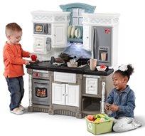 מטבח לילדים דגם לייף סטייל חלומי עם 37 אביזרי משחק 8521