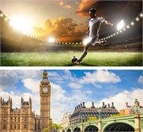 חבילת ספורט הכוללת טיסות, 3 לילות בלונדון וכרטיס לצ'לסי מול מנצ'סטר יונייטד החל מכ-£904* לאדם!