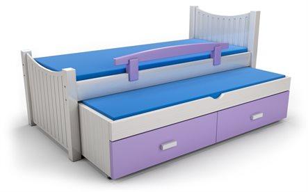 חדש ברהיטי גבעת ברנר-יוניגל מיטת ילדים נפתחת מעץ בוק! בנוסף, מבחר מיטות מעץ אורן, רק ב-₪1990! - תמונה 4