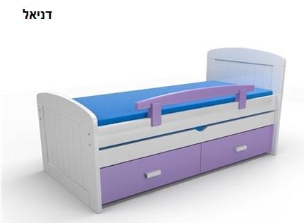 חדש ברהיטי גבעת ברנר-יוניגל מיטת ילדים נפתחת מעץ בוק! בנוסף, מבחר מיטות מעץ אורן, רק ב-₪1990! - תמונה 2