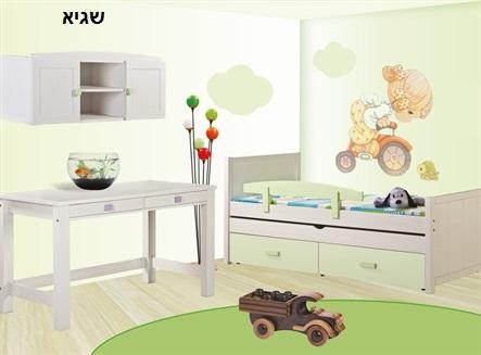 חדש ברהיטי גבעת ברנר-יוניגל מיטת ילדים נפתחת מעץ בוק! בנוסף, מבחר מיטות מעץ אורן, רק ב-₪1990! - תמונה 5