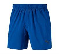 מכנסי אימון קצרים לגברים PUMA ESS Woven Shorts 5 בצבע כחול