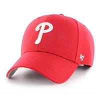 כובע PHILADELPHIA PHILLIES - אדום סמל לבן
