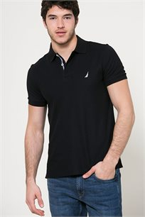 חולצת פולו לגברים - שחור