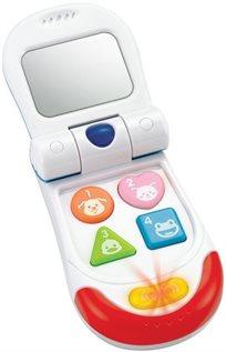 הטלפון המתקפל הראשון שלי עם אורות וצלילים