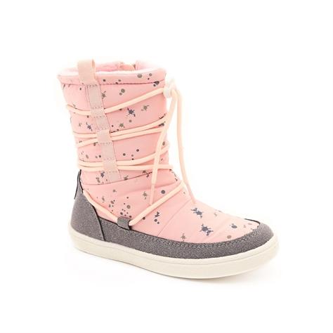 Candy Puffy Boot - מגפי פוף לילדות בצבע ורוד