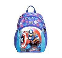 תיק גן קלאסי לילדים דגם קפטן אמריקה Kal Gav