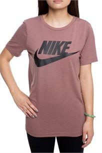 חולצת טי שירט לנשים - סגול מעושן