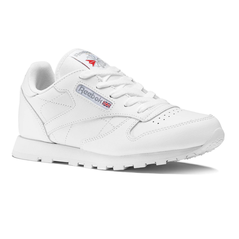 Reebok ילדים// Classic Leather White