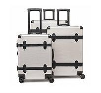 סט שלוש מזוודות קשיחות Calpak דגם TRNK בצבע אפור