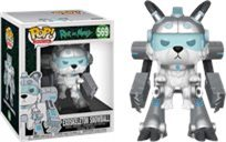"Funko Pop - Exoskeleton Snowball  6"" (Rick And Morty) 569  בובת פופ ריק ומורטי"