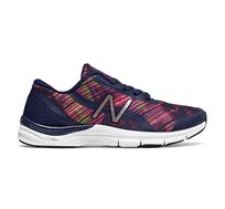 נעלי אימון וריצה לנשים NEW BALANCE דגם WX711 AG3 בצבע שחור/ורוד מודפס