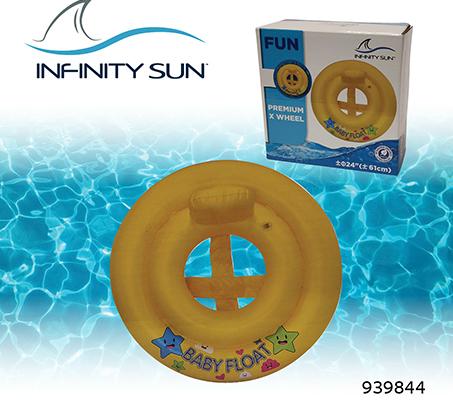 גלגל ישיבה לים צורת איקס לתינוקות וילדים עד גיל 3 INFINITY SUN - תמונה 2