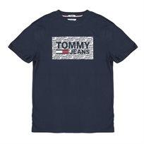 TOMMY HILFIGER גברים // טי - שרט בוקס לוגו