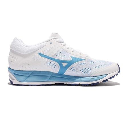 נעלי ריצה לנשים MIZUNO WMN'S RUNNING SHOES SYNCHRO MX 2W J1GF171928 - לבן תכלת