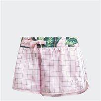 מכנס קצר נשים אדידס - ורוד טרופי