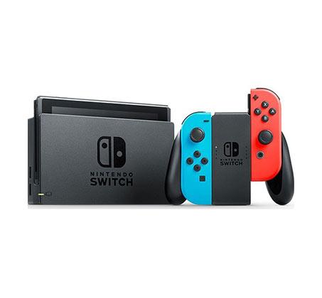 Nintendo Switch נינטנדו סוויץ' גרסת ניאון