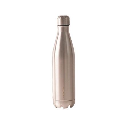 """בקבוק 750 מ""""ל דופן כפולה בגוון Metallic SS נירוסטה ארקוסטיל"""