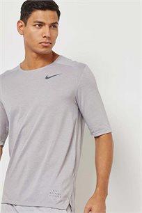 חולצת דרי פיט לגברים - אפור בהיר