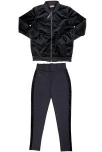 Kappa נשים// חליפה מלאה שחורה
