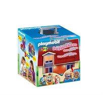Playmobil בית בובות + דמות פליימוביל מתנה