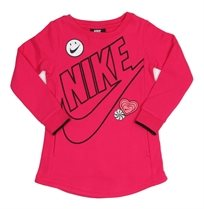 NIKE ילדים// DOODLE DRESS PINK