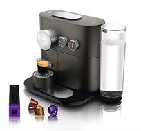 מכונת קפה Nespresso EXPERT בצבע אפור דגם D80GR