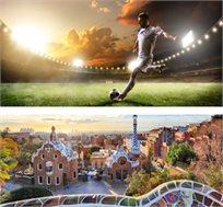 חבילת ספורט הכוללת 3 לילות בברצלונה+כרטיס למשחק ברצלונה מול סביליה ומלון רק בכ-€644* לאדם!