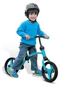 אופני איזון 2 ב 1 - בכחול