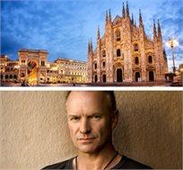 טסים לראות את סטינג בהופעה במילאנו כולל 3 לילות במלון וכרטיס להופעה רק בכ-€669*