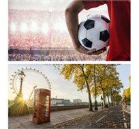4 לילות בלונדון כולל כרטיס למשחק ארסנל מול מנצ'סטר יונייטד רק בכ-£1124*