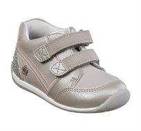 נעלי צעד שני לבנות דגם סמרטי בנות בצבע אפור