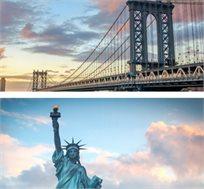10 ימים בניו יורק, כולל טיסות, מלון, טיול מודרך בעברית למפלי הניאגרה ועוד רק בכ-$1999*