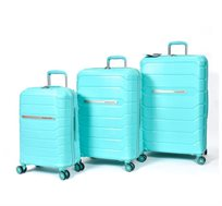 סט מזוודות 3 גדלים SWISS PRO במגוון צבעים לבחירה