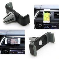 מעמד לסמארטפון או ל-GPS לפתח המזגן הניתן להעברה בין רכבים ואינו חוסם את שדה הראיה