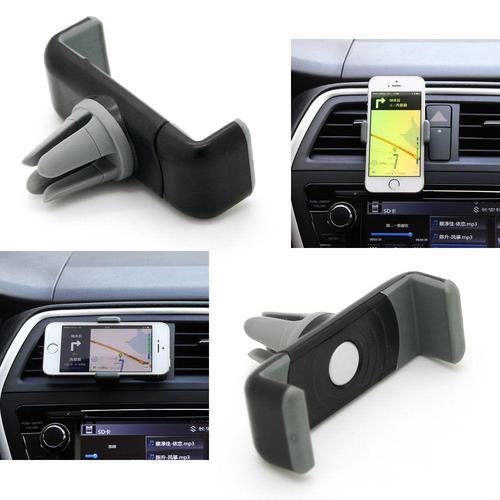 מעמד לסמארטפון או ל-GPS לפתח המזגן הניתן להעברה בין רכבים ואינו חוסם את שדה הראיה - תמונה 2