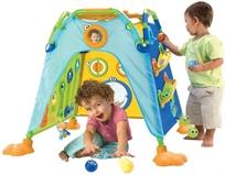 אוהל משחק וגילוי הראשון שלי