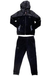 KAPPA ילדים// חליפת קפוצון שחור
